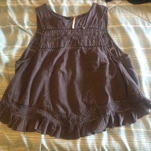 Free people blouse open back NEW - size medium